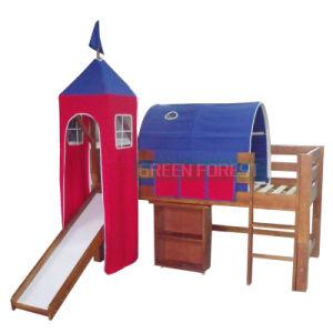 Bunk Children Wooden Tent Bed (GF-CB005)