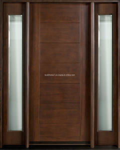 Prehung Solid Wood Interior Doors for Internal Entrance pictures & photos