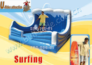 Inflatable surfboard machine small wave simlulator pictures & photos