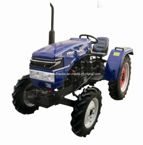 4WD Diesel, Double-Cylinder, Mini Farm Tractor (XZS-254) pictures & photos