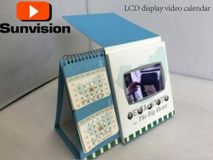 "5"" 7""LCD Digital Video Calendar Advertising Player pictures & photos"