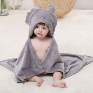 Baby Darling Soft Lion Hooded Bath Towel Set pictures & photos