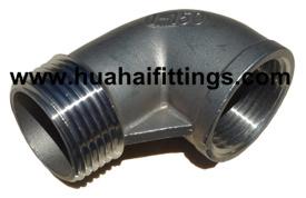 DIN2982/En10241 Stainless Steel 90 Deg Street Elbow