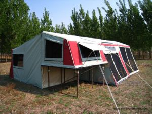 4WD Camper Trailer Tent (SC-04Double sunroom) pictures & photos