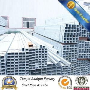 ASTM Galvanized Carbon Steel Square Pipe 35*35 pictures & photos