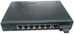 Good Quality Websmart+Snmp 7X1 Optic Fiber Switch pictures & photos