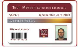 RFID-I Code 2 Card