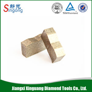 Diamond Saw Blade Grinding Segment for Stone Cutting pictures & photos