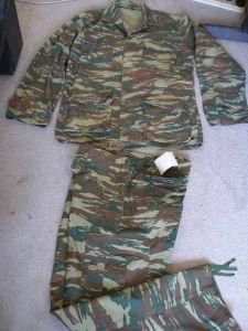 Military Camouflage IRR BDU Battle Dress Uniform