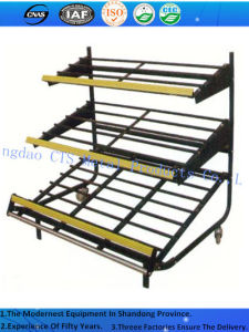 First-Class Supermarket Vegetable Fruit Display Rack/Shelf