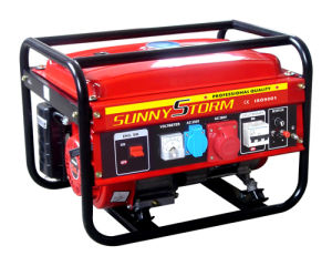 2kw/ 2.5kw/ 2.8kw Three Phase Portable Gasoline Generator pictures & photos