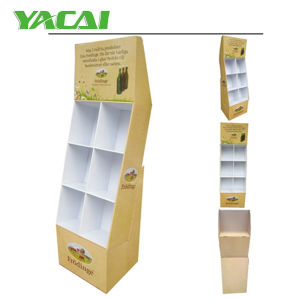 Corrugated Cardboard Display Stand with 5 Shelves, Foldable Display Stand, Floor Standing Display Unit, Paper Display Stand pictures & photos