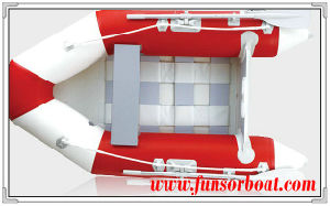 Inflatable Rowing Boat with Slatted Floor (FWS-M230) pictures & photos