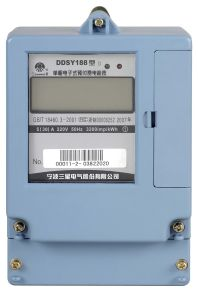 Single phase Prepaid Static Meter (DDSY188 D)
