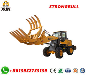 Log Grapple Grass Grapple 1.5 Ton Rated Load Wood Forklift Zl26 pictures & photos