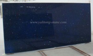 Artificial Quartz Stone - Galaxy Blue
