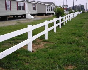 PVC Fencing pictures & photos