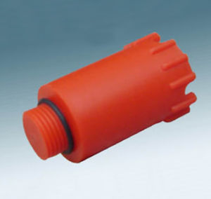 PPR Pipe Fitting-Long Pipe Plug (Red)