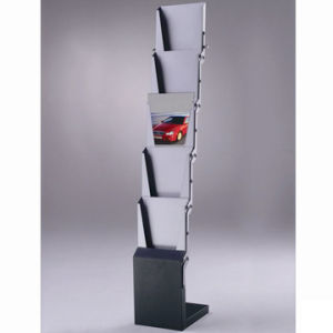5 Pockets Magazine Rack For A4 Brochures (SIC-ZL-405)