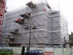 PE Scaffolding Sheet pictures & photos