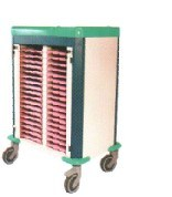 ABS Material Top Patient File Trolley (N-29) pictures & photos