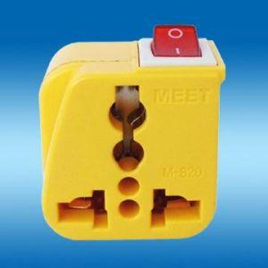 Travel Adapter W/Switch (WSA-6.YL)
