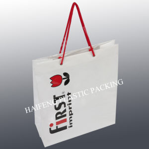 Plastic Bag /Shopping Bag/Soft Loop Plastic Bag/Promotion Bag pictures & photos