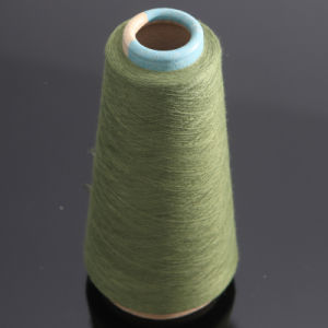 Moss Green Spun Yarn