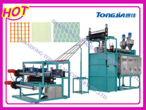 Plastic Square Mesh Machine for Chicken Cages (JG-FW) pictures & photos