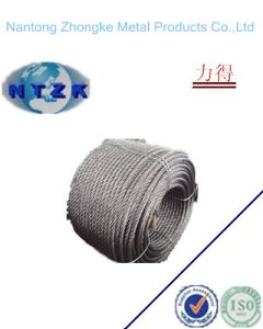 Hot Sale Galvanized Steel Wire Rope (6X24+7FC) pictures & photos