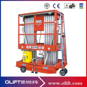 10m Two Person Dual Mast Mobile Aluminium Work Platform