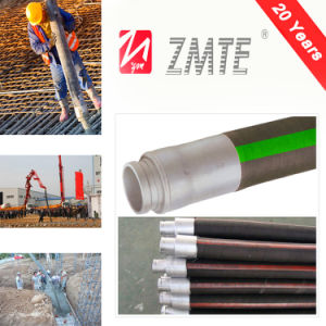 "6"" Rubber Concrete Hose with Abrasion Resistant Inner Tube for Concrete Pump Machine pictures & photos"