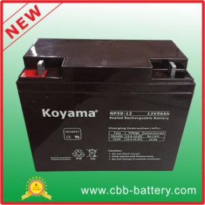 Lead Acid Battery 50ah 12V Storage AGM Battery pictures & photos