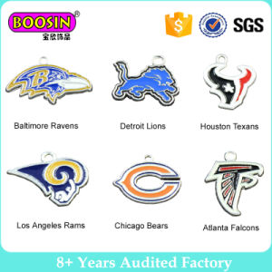 Zinc Alloy NFL Sport Jewelry Houston Texans Seattle Seahawks Charm pictures & photos