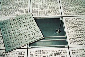 Perforated Panel Floor (SPP-25P)