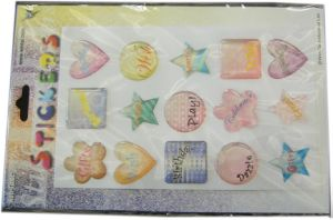 Drip Gum Sticker
