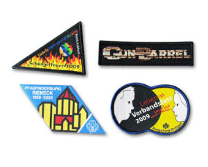 A01 Woven Badges pictures & photos