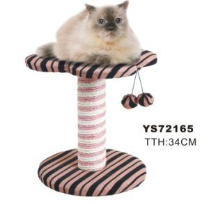 Stripe Cat Scratch Furniture, with 2 Balls Cat Tree, Pet Toys pictures & photos
