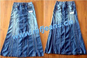 Jeans Skirts (Sk9006#)