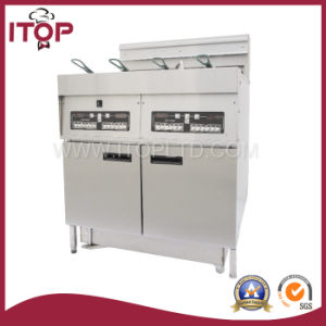 CE Approved Electrical Fryer with Oil Filter (EFD) pictures & photos