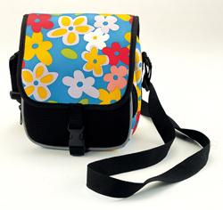 Flower Printed Fabric Leisure Fashion Popular Shoulder Bag