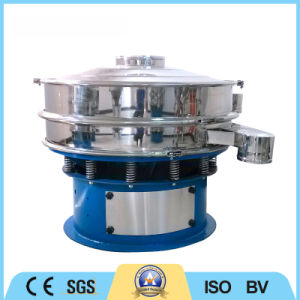 Two Layers Stainless Steel Screening Machine Rotary Vibrating Screen pictures & photos
