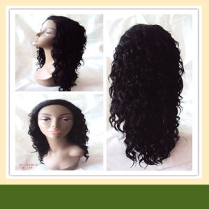 Synthetic Wig Synthetic Hair Lace Front Wig (HHK16) pictures & photos