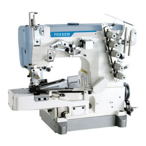 Cylinder Bed Interlock Sewing Machine for Tape Binding pictures & photos
