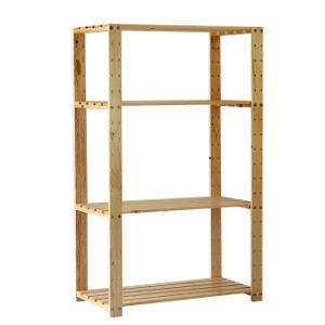 Pine Wood Shelf, Storage Shelf (H-H0212)
