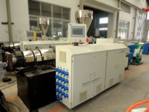 China UPVC Electrical Conduit Pipe Extruder Machine pictures & photos