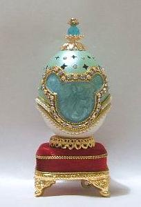 Goose Egg Music Box/Jewelry Box(YJ225M)