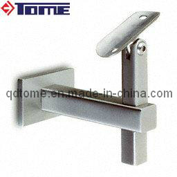 Square Tube Adjustable Handrail Wall Bracket pictures & photos