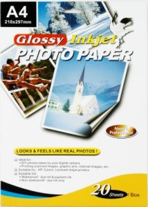 Glossy Inkjet Photo Paper pictures & photos