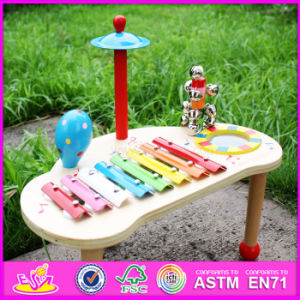 2016 Wholesale Kid Wooden Educational Toys, Musical Baby Wooden Educational Toys, Funny Children Wooden Educational Toys W07A102 pictures & photos